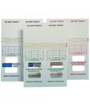 PIEGE CARTON INSECT MONITORS POUR INSECTES RAMPANTS