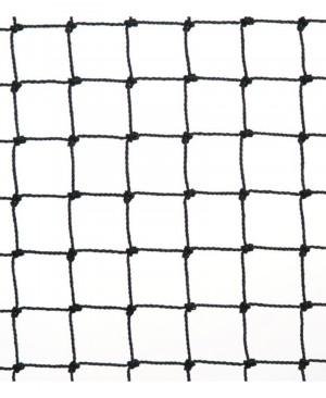 FILET NOIR ANTI-MOINEAUX MAILLE 19MM - 20MX20M
