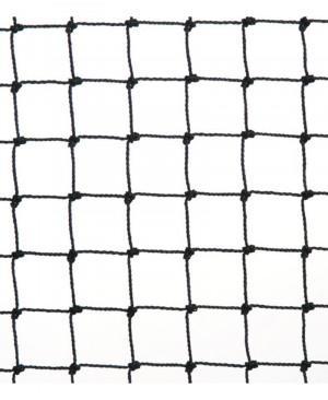 FILET NOIR ANTI-MOINEAUX MAILLE 19MM - 10MX100M